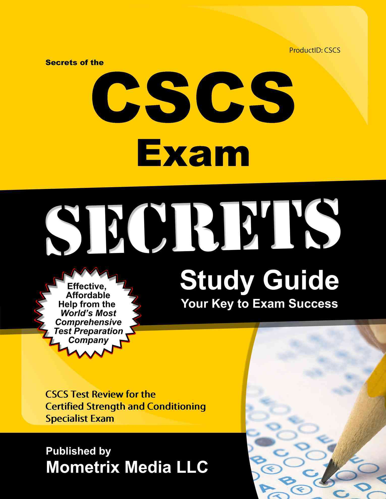 Secrets of the Cscs Exam Study Guide By Cscs Exam Secrets (EDT)
